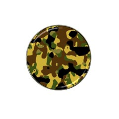 Camo Pattern  Golf Ball Marker 4 Pack (for Hat Clip)
