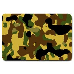 Camo Pattern  Large Door Mat