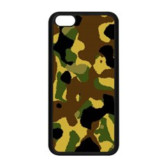 Camo Pattern  Apple iPhone 5C Seamless Case (Black)