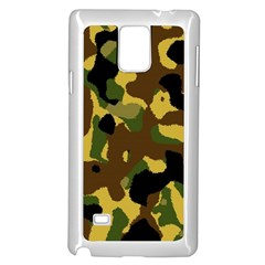Camo Pattern  Samsung Galaxy Note 4 Case (white)