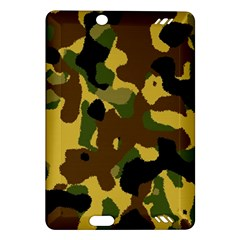 Camo Pattern  Kindle Fire HD (2013) Hardshell Case