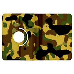 Camo Pattern  Kindle Fire HDX Flip 360 Case