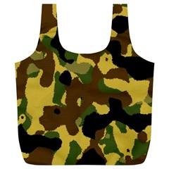 Camo Pattern  Reusable Bag (XL)