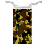 Camo Pattern  Jewelry Bag Front