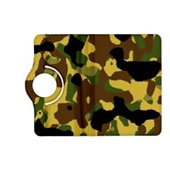 Camo Pattern  Kindle Fire Hd (2013) Flip 360 Case