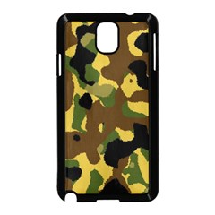 Camo Pattern  Samsung Galaxy Note 3 Neo Hardshell Case (Black)