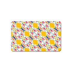 Dots And Rhombus Magnet (name Card)