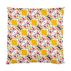 Dots And Rhombus Standard Cushion Case (two Sides)