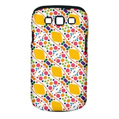 Dots And Rhombus Samsung Galaxy S Iii Classic Hardshell Case (pc+silicone)