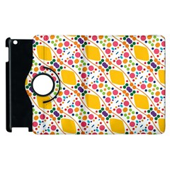 Dots and rhombus Apple iPad 3/4 Flip 360 Case