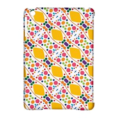 Dots And Rhombus Apple Ipad Mini Hardshell Case (compatible With Smart Cover)
