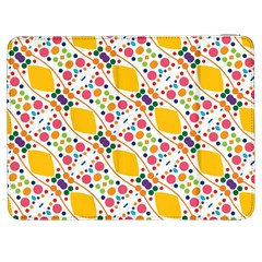 Dots And Rhombus Samsung Galaxy Tab 7  P1000 Flip Case