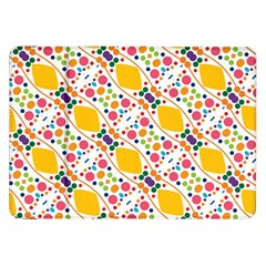 Dots And Rhombus Samsung Galaxy Tab 8 9  P7300 Flip Case