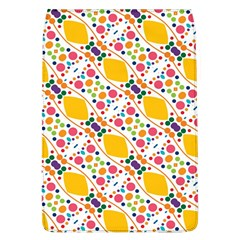 Dots And Rhombus Removable Flap Cover (large)