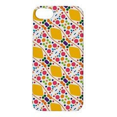 Dots And Rhombus Apple Iphone 5s Hardshell Case