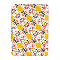Dots and rhombus Samsung Galaxy Note 10.1 (P600) Hardshell Case