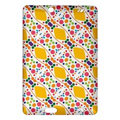 Dots and rhombus Kindle Fire HD (2013) Hardshell Case
