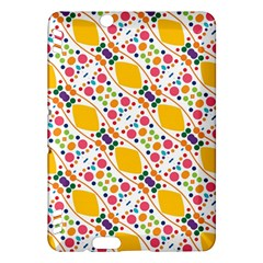 Dots And Rhombus Kindle Fire Hdx Hardshell Case