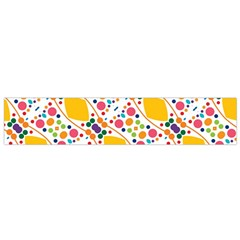 Dots and rhombus Flano Scarf (Small)