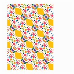 Dots and rhombus Small Garden Flag (Two Sides)