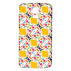 Dots and rhombus Samsung Galaxy S5 Back Case (White)