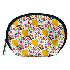 Dots And Rhombus Accessory Pouch (medium)