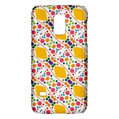 Dots and rhombus Samsung Galaxy S5 Mini Hardshell Case