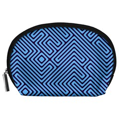 Blue maze Accessory Pouch (Large)