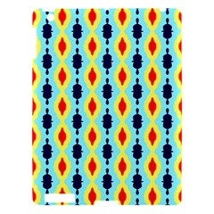 Yellow Chains Pattern Apple Ipad 3/4 Hardshell Case