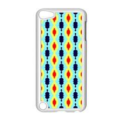 Yellow Chains Pattern Apple Ipod Touch 5 Case (white)