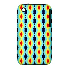 Yellow chains pattern Apple iPhone 3G/3GS Hardshell Case (PC+Silicone)