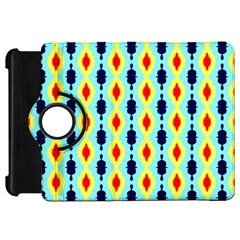 Yellow Chains Pattern Kindle Fire Hd Flip 360 Case