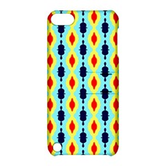 Yellow Chains Pattern Apple Ipod Touch 5 Hardshell Case With Stand