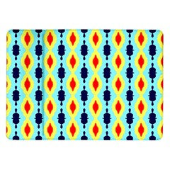 Yellow chains pattern Samsung Galaxy Tab 10.1  P7500 Flip Case