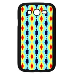 Yellow Chains Pattern Samsung Galaxy Grand Duos I9082 Case (black)