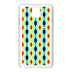 Yellow Chains Pattern Samsung Galaxy Note 3 N9005 Case (white)