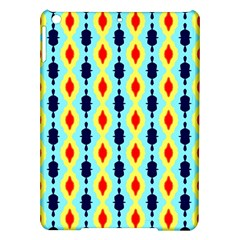 Yellow chains pattern Apple iPad Air Hardshell Case