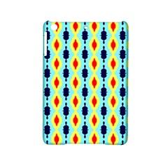 Yellow chains pattern Apple iPad Mini 2 Hardshell Case