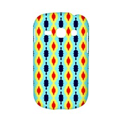 Yellow chains pattern Samsung Galaxy S6810 Hardshell Case