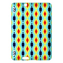 Yellow chains pattern Kindle Fire HDX Hardshell Case