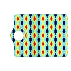 Yellow chains pattern Kindle Fire HD (2013) Flip 360 Case