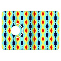 Yellow Chains Pattern Kindle Fire Hdx Flip 360 Case