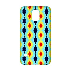 Yellow chains pattern Samsung Galaxy S5 Hardshell Case