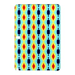 Yellow Chains Pattern Samsung Galaxy Tab Pro 10 1 Hardshell Case