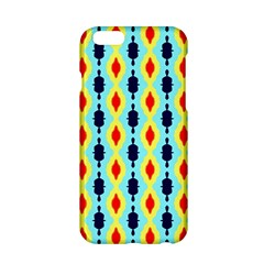 Yellow Chains Pattern Apple Iphone 6 Hardshell Case