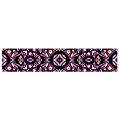 Colorful Tribal Geometric Print Flano Scarf (Small)