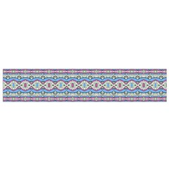Aztec Style Pattern in Pastel Colors Flano Scarf (Small)