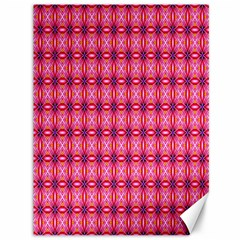Abstract Pink Floral Tile Pattern Canvas 36  X 48  (unframed)