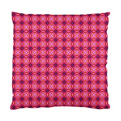 Abstract Pink Floral Tile Pattern Cushion Case (single Sided)