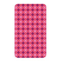 Abstract Pink Floral Tile Pattern Memory Card Reader (rectangular)